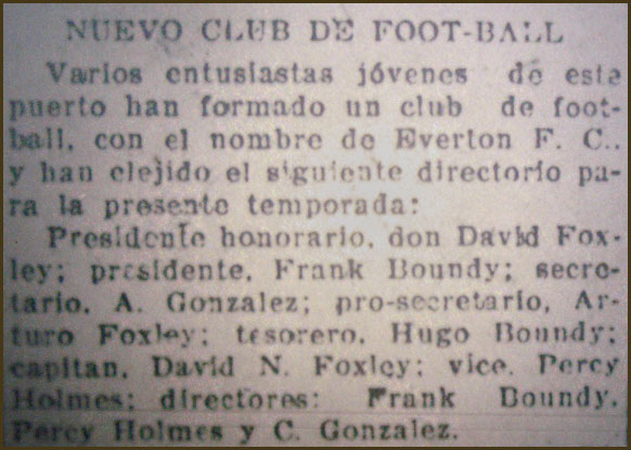 Image result for everton vina del mar 1909